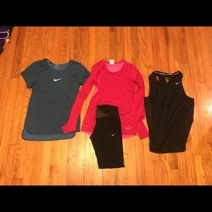 Nike Running Clothes Lot